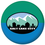 Salt Lake City (Utah) Flag 58mm Mirror Keyring